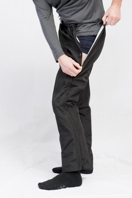 Herren Reha-Hose für Kur, nach OP oder Sport mit durchgehendem Reißverschluss