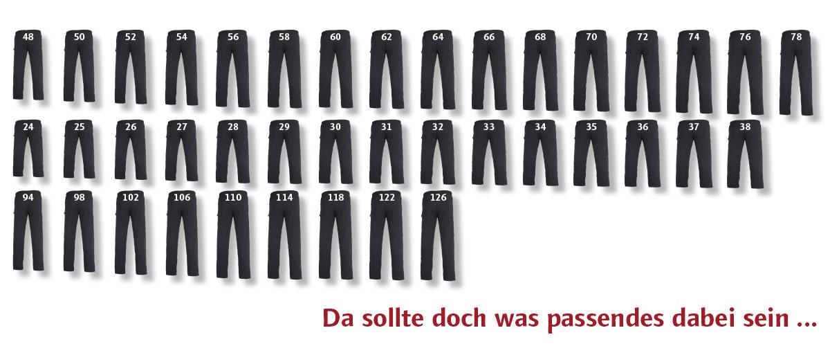 Elastische Herren Jogginghose von Authentic Klein. Lieferbar bis 10x XL